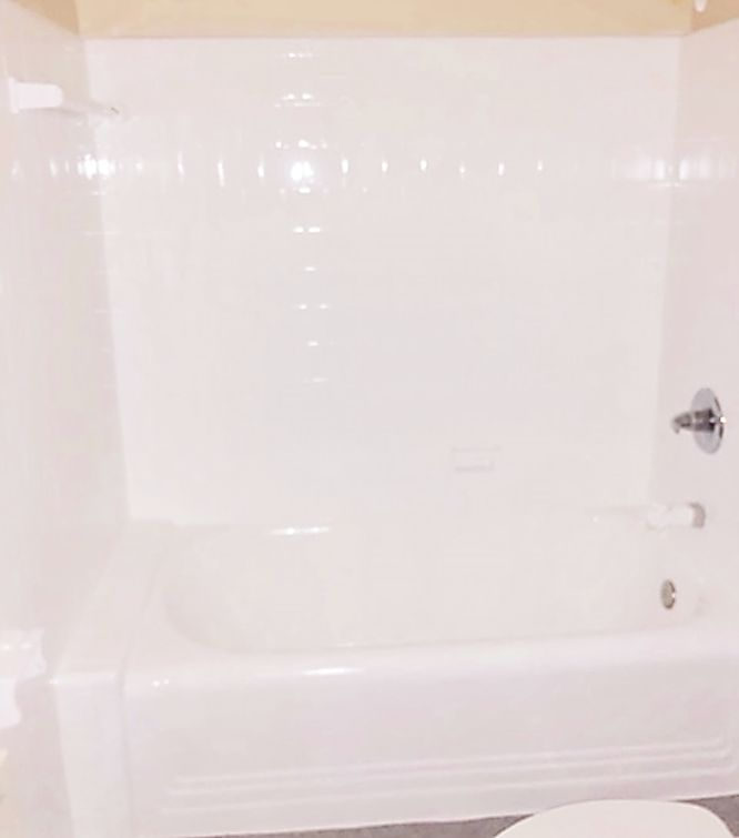 Tub and Shower Wall Tile Reglaze