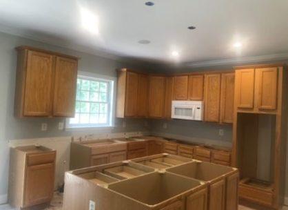 Kitchen Cabinet Process