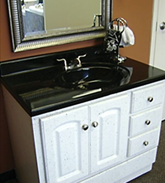 Sink and Cabinets Refinishing