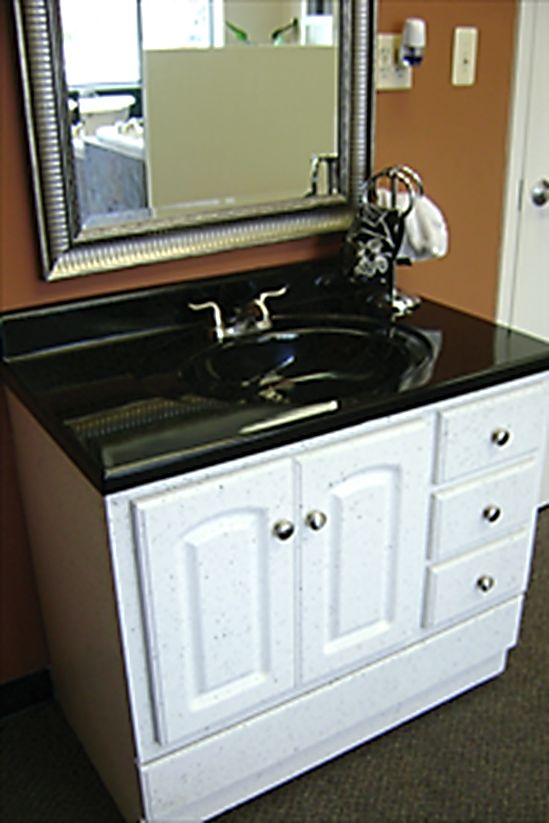 Sink and cabinet Refinishing